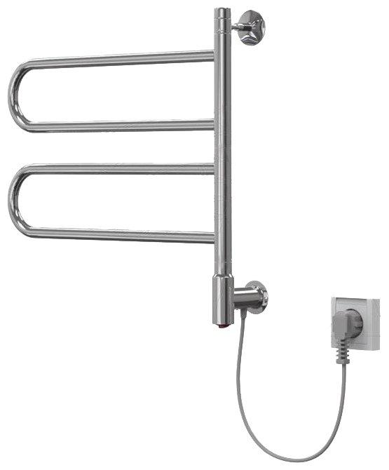 Электрический полотенцесушитель Арго Флюгер 45x50 2П кнопка