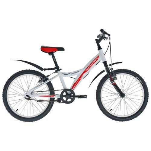 Подростковый горный (MTB) велосипед FORWARD Comanche 1.0 (2018) белый 10.5 (требует финальной сборки) comanche heart