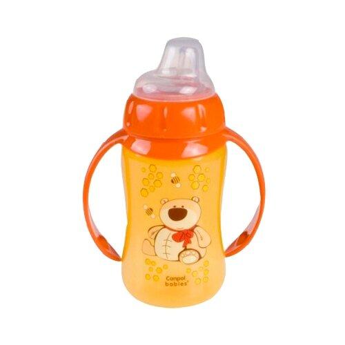 Фото - Поильник-непроливайка Canpol Babies 56/512, 320 мл оранжевый поильник непроливайка canpol babies 31 404 250 мл фиолетовый