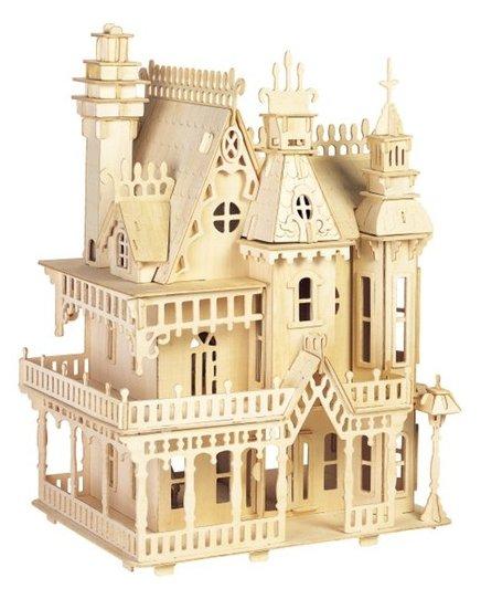 Купить Сборная модель Чудо-Дерево Вилла Королевская фантазия (DH004) по низкой цене с доставкой из Яндекс.Маркета