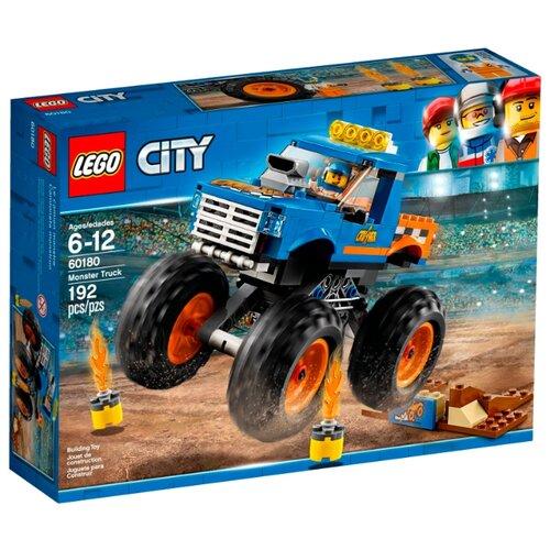 Конструктор LEGO City 60180 Монстрогрузовик конструктор city lego lego mp002xb00c9t