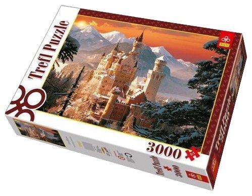 Пазл Trefl Зимний дворец Нойшванштайн (33025), 3000 дет.