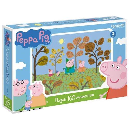 Купить Пазл Origami Peppa Pig Путешествие (01541), 160 дет., Пазлы