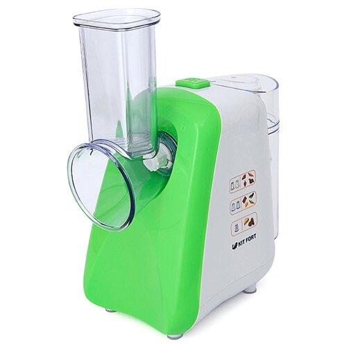 Измельчитель Kitfort KT-1318 зеленый/белый