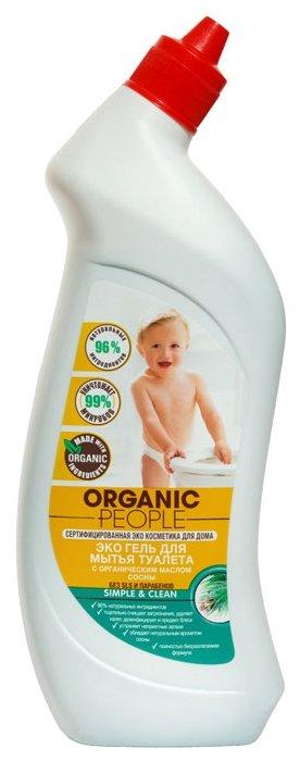 Organic People гель Эко для мытья туалета c маслом сосны