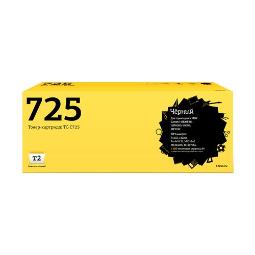 Фото - Картридж T2 TC-C725, совместимый картридж t2 tc c712