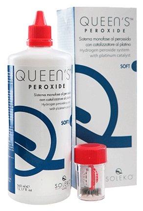 Раствор для линз Soleko Раствор Queen's Peroxide, 100 мл