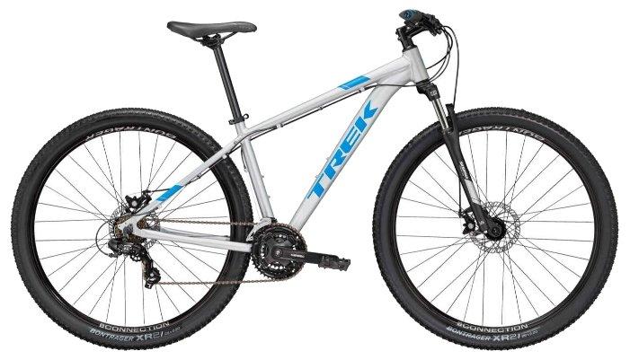 Горный велосипед TREK Marlin 4 29 2018, серый, рама 17.5''
