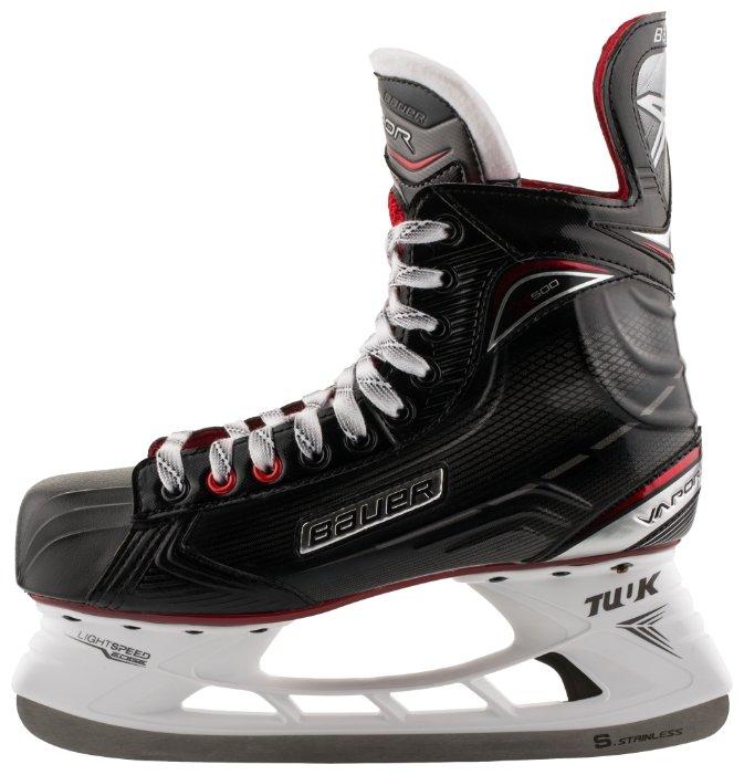 Коньки хоккейные BAUER Vapor X500 S17 JR подростковые(35,5)