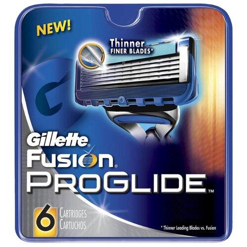 Сменные кассеты Gillette Fusion5 ProGlide, 6 шт.