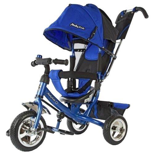 Купить Трехколесный велосипед Moby Kids Comfort 950D синий, Трехколесные велосипеды