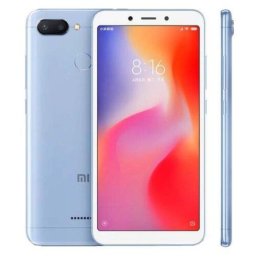 Смартфон Xiaomi Redmi 6 3/32GB голубойМобильные телефоны<br>