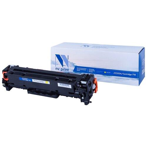 Фото - Картридж NV Print CC532A/718 Yellow для HP и Canon картридж nv print q7581a для hp