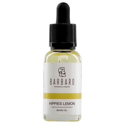 Barbaro Масло для бороды Hippies Lemon