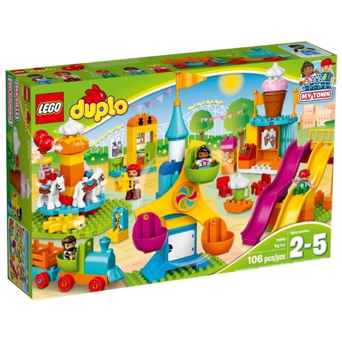 Купить Конструктор LEGO DUPLO 10840 Большая ярмарка, Конструкторы