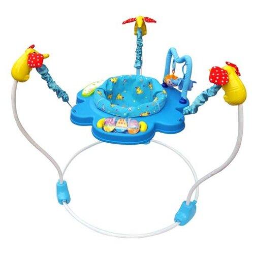 Купить Ходунки-прыгунки La-Di-Da Blue Circus голубой, Ходунки, прыгунки