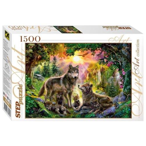 Купить Пазл Step puzzle Art Collection Волки (83046), 1500 дет., Пазлы