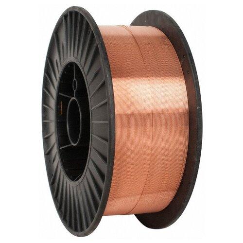 Проволока из металлического сплава FoxWeld ER70S-6 0.8мм 15кг проволока из металлического сплава барс er 70s 6 0 8мм 1кг