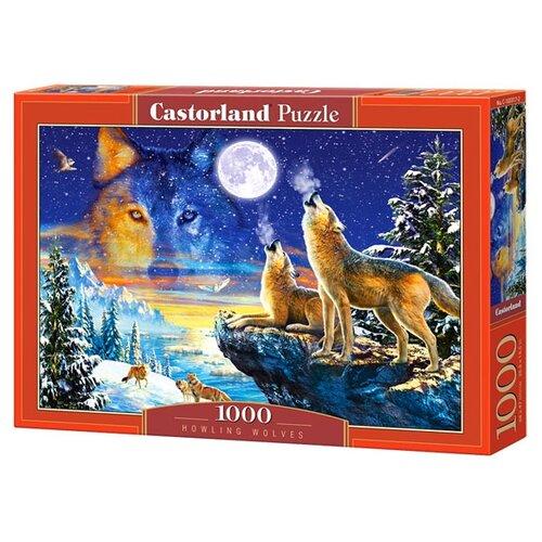 Купить Пазл Castorland Howling Wolves (C-103317), 1000 дет., Пазлы