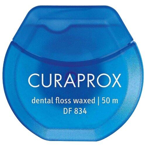 Curaprox Нить межзубная мятная зубные ёршики curaprox
