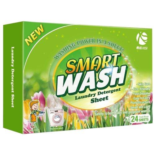 XiSi пластины Smart Wash Свежий цветок, картонная пачка, 24 шт