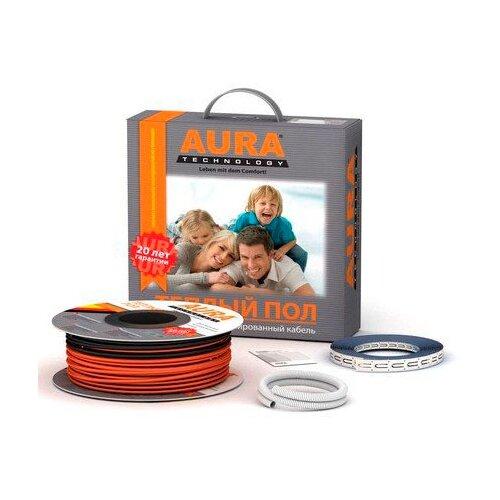 Греющий кабель AURA Heating КТА 300Вт греющий кабель oasis 300 1 5 2 7м2 300вт