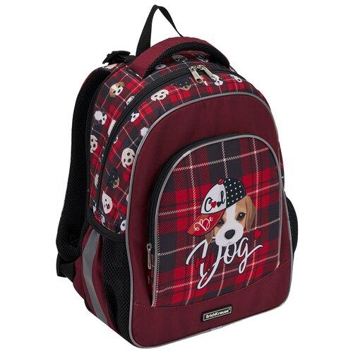 Фото - Ученический рюкзак ErichKrause ErgoLine 15L Cute Dog ученический ранец erichkrause ergoline 15l drift king