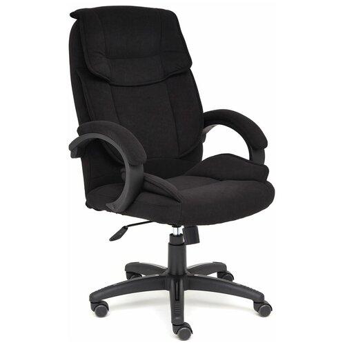 Компьютерное кресло TetChair Oreon (обивка ткань) для руководителя, обивка: текстиль, цвет: черный