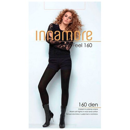 Фото - Колготки Innamore Feel, 160 den, размер 2-S, moka (коричневый) колготки innamore microfibra 100 den размер 2 s moka коричневый