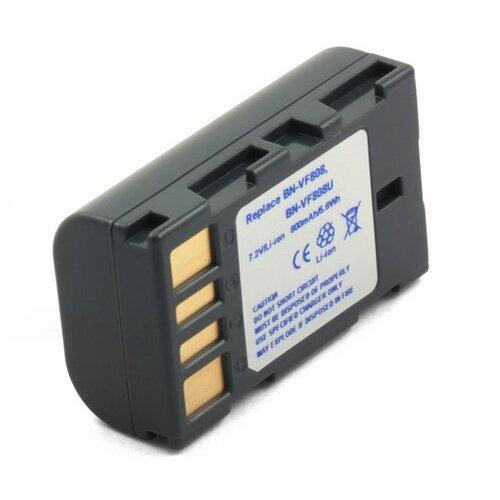 Фото - Аккумулятор для видеокамеры JVC BN-VF808U, BN-VF815U усиленный аккумулятор для jvc bn v416 bn v416u bn v428