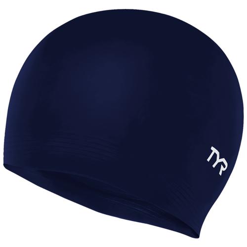 Шапочка для плавания Tyr Latex Swim Cap LCL, синий по цене 399