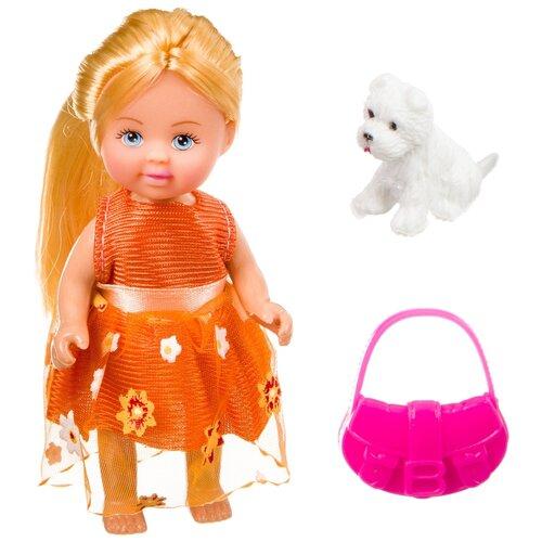 Фото - Игровой набор Bondibon OLY Куколка с собачкой и сумочкой в прозрачном шаре, 11 см, ВВ3887 набор игровой bondibon кукольный уголок гостиная и куколка oly