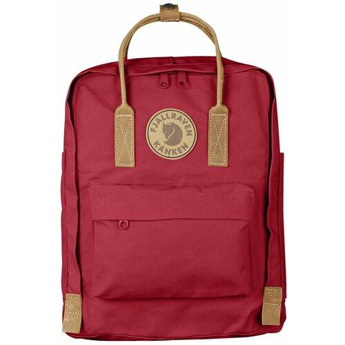 Фото - Городской рюкзак Fjallraven Kånken No.2 16, deep red рюкзак fjallraven kånken no 2 laptop 15 black edition 18 черный