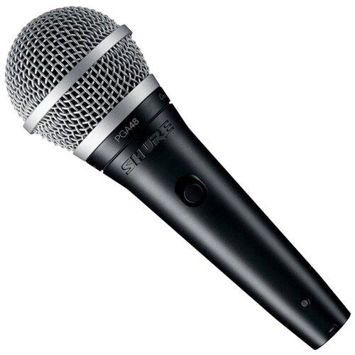 Микрофон Shure PGA48-QTR-E, черный