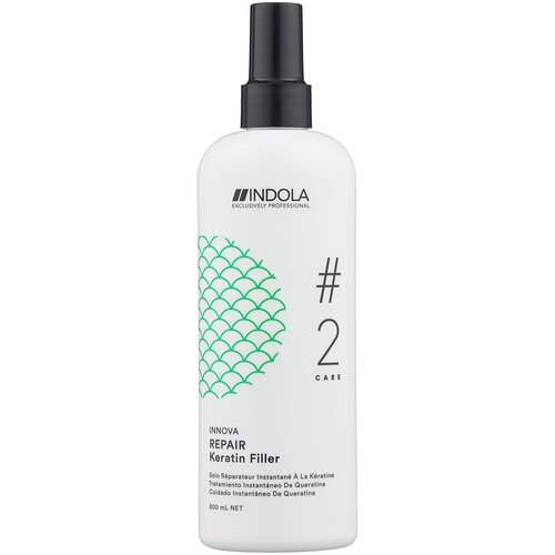 Фото - Indola Innova Care Repair Восстанавливающий кератиновый филлер для волос, 300 мл шампунь для восстановления поврежденных волос indola innova repair shampoo 300 мл