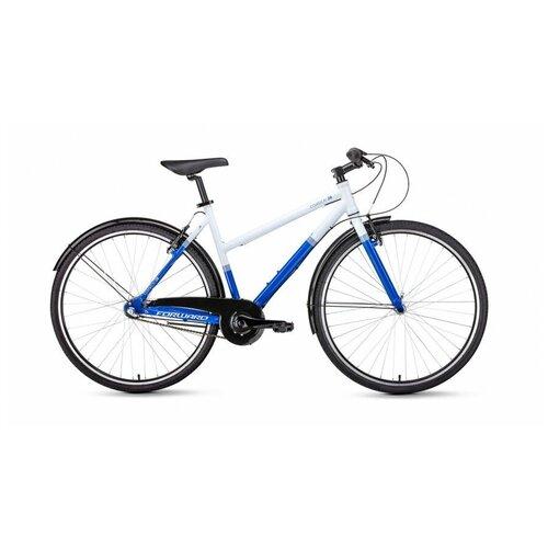 FORWARD Городской велосипед FORWARD Corsica 28 белый/синий (2019)