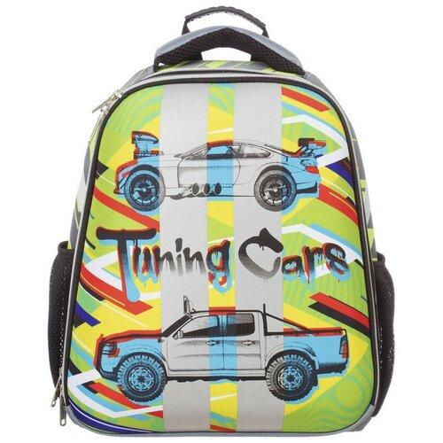 Купить Ранец №1School Basic Tuning Cars, 2 отд., ортопед. Cпинка, №1 School, Рюкзаки, ранцы