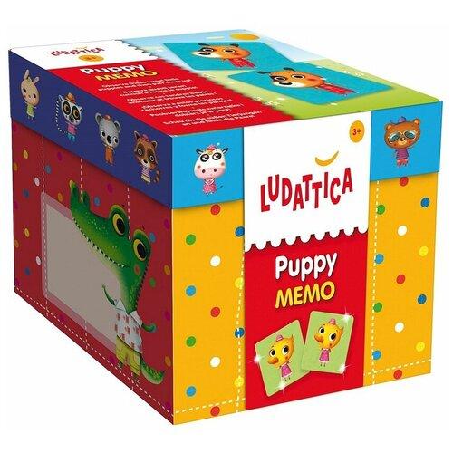Настольная игра Ludattica Щенки 52448 игры для малышей ludattica игра настольная африканская саванна