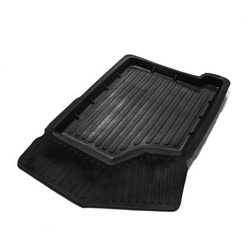 Резиновый коврик в салон 3D Standart SRTK, водительский для ВАЗ (LADA) 2113 1 поколение [2005-2013], ВАЗ (LADA) 2114 1 поколение [2001-2013], ВАЗ (LADA) 2115 1 поколение [1997-2012]