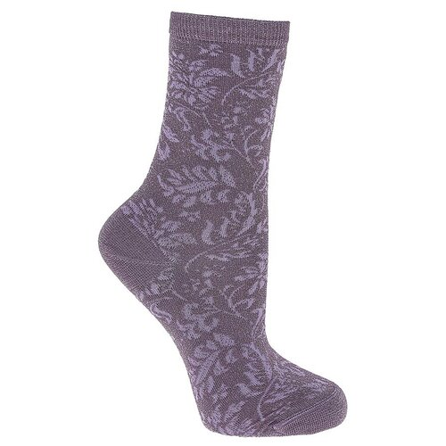 Носки женские Collonil Casual 8-107 лиловые 3941