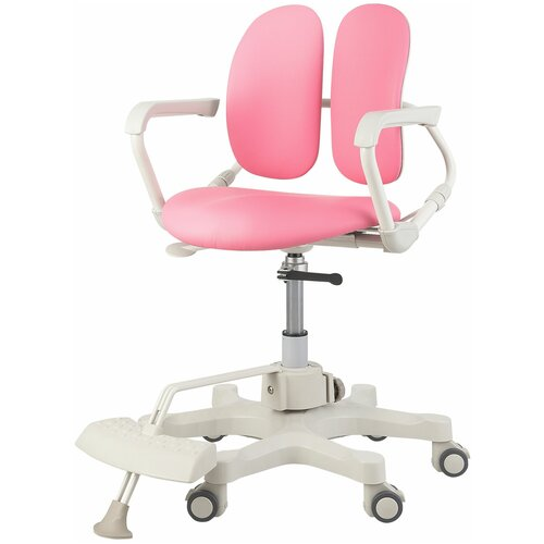 компьютерное кресло duorest kids max детское обивка искусственная кожа цвет светло зеленый Компьютерное кресло DUOREST Kids DR-280DDS детское, обивка: искусственная кожа, цвет: розовый