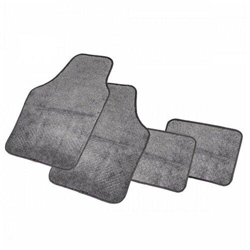 Фото - Комплект ковриков салона AUTOPROFI PET602 4 шт. серый комплект ковриков autoprofi pet602 4 шт черный