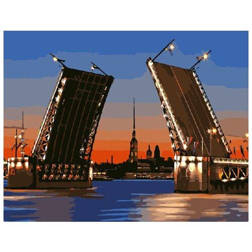 Купить Картина по номерам ВанГогВоМне ZX 20035 Развод мостов 40х50 см, Картины по номерам и контурам