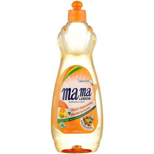 Mama Lemon Жидкость для мытья посуды Fresh citrus, 0.75 л