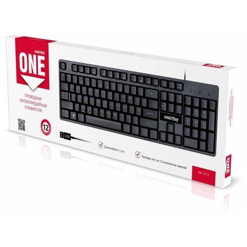 Клавиатура SMARTBUY (SBK-237-K) ONE 237