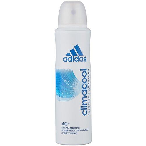 Adidas антиперспирант, спрей, Climacool, 150 мл дезодорант антиперспирант спрей adidas 6 в 1 150 мл