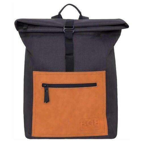 Городской рюкзак Grizzly RQ-913-1 10, черный/кирпичный
