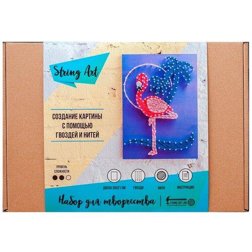 Купить String Art Lab Набор для творчества Фламинго (A4011), Поделки и аппликации