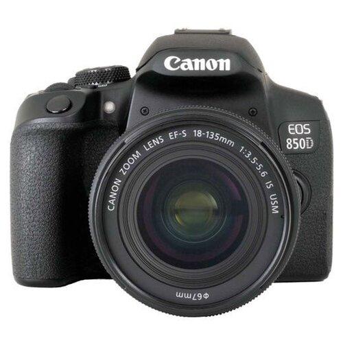 Фотоаппарат Canon EOS 850D Kit черный EF-S 18-135mm f/3.5-5.6 IS USM