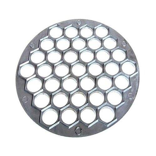 Форма для пельменей Мультидом ФЭ9-7, серебристый форма для пельменей kuchenprofi форма для пельменей сталь 18 10 08 0360 28 00